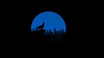 Huilen naar de maan