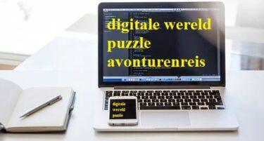 wereld puzzle avonturenreis